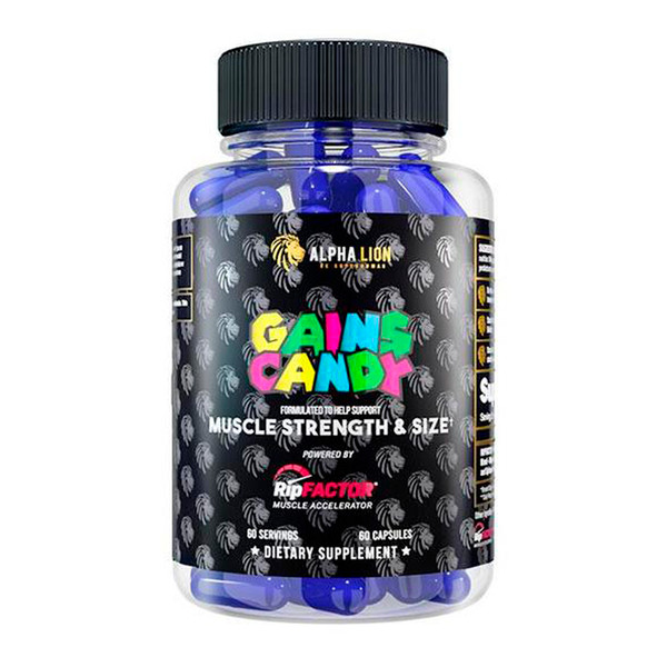 Alpha Lion Gains Candy RipFactor Bottle