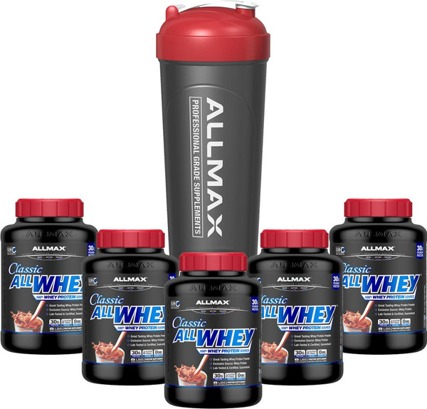 ALLMAX NUTRITION Sample Pack + Shaker
