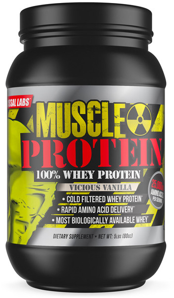 Colossal Labs Muscle Protein Bottle