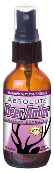 Absolute Nutrition Deer Antler Velvet Extract bottle