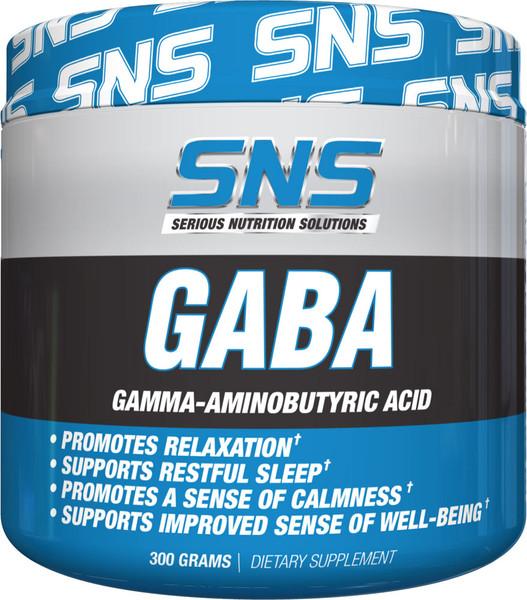 SNS GABA Powder Bottle