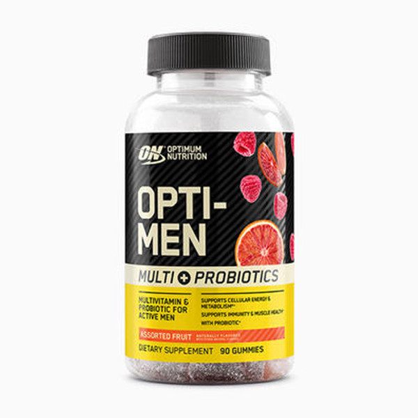 Optimum Nutrition Opti-Men Multi/Probiotic Gummy Bottle