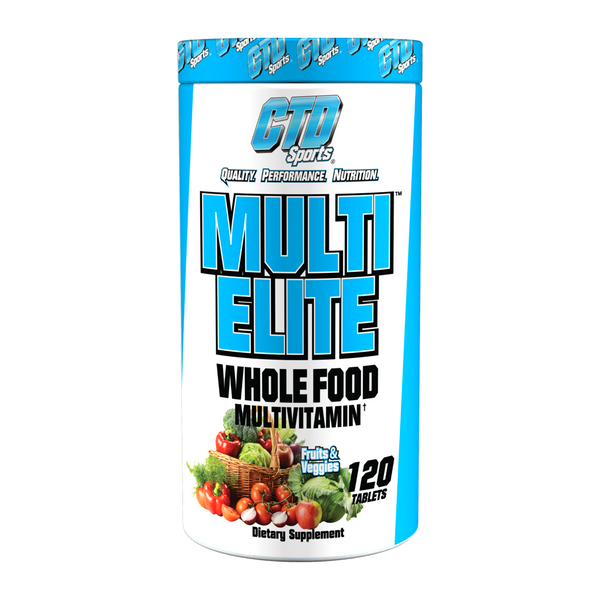 CTD Sports Multi Elite Whole Food Multivitamin Bottle