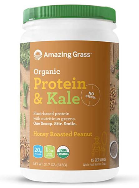 Amazing Grass Organic Protein & Kale Bottle