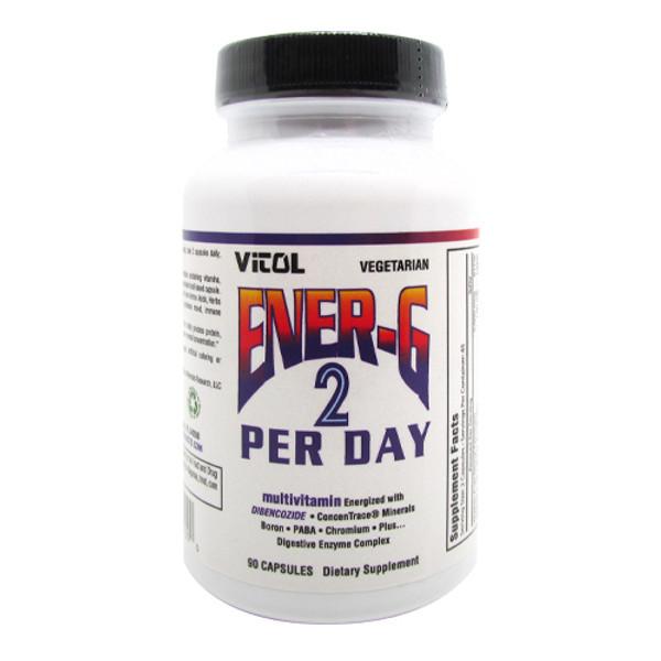Vitol Ener-G 2 Per Day Multi-Vite Bottle