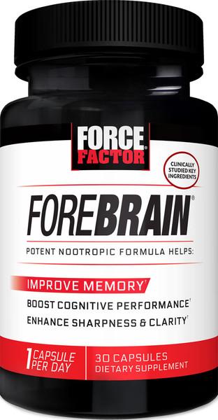 Force Factor ForeBrain Bottle