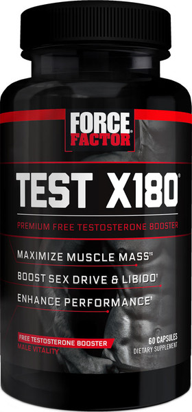 Force Factor Test X180 Bottle