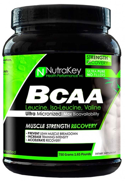 NutraKey BCAA Bottle