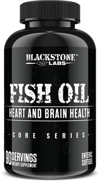 Blackstone Labs Fish Oil Bottle