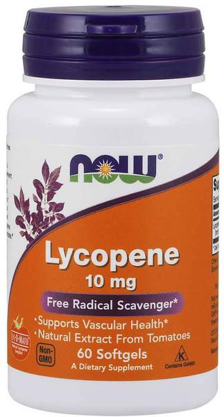 Now Lycopene 10 MG