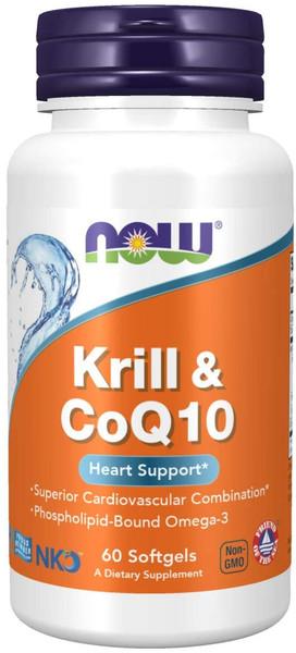 Now Krill & CoQ10 bottle