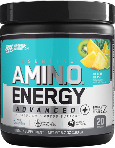 Optimum Nutrition Essential AmiN.O. Energy Advanced Bottle