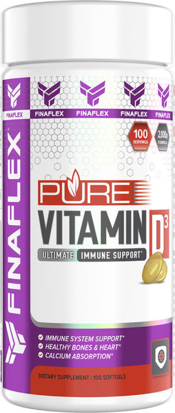 FINAFLEX Pure Vitamin D3 Bottle