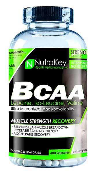 NutraKey BCAA 1500 Bottle