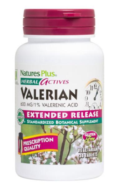 Nature's Plus Valerian Bottle