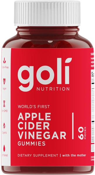 Goli Nutrition Apple Cider Vinegar Gummies Bottle