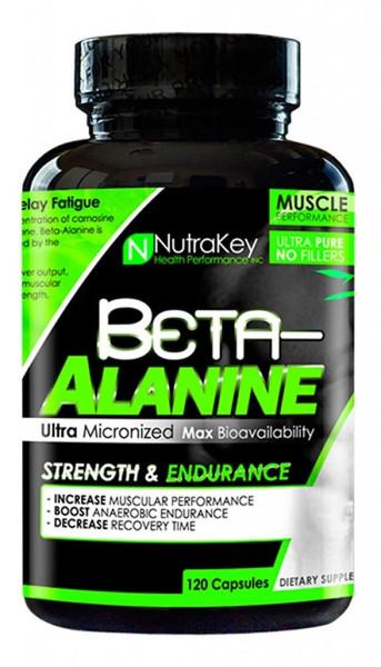 NutraKey Beta-Alanine Bottle