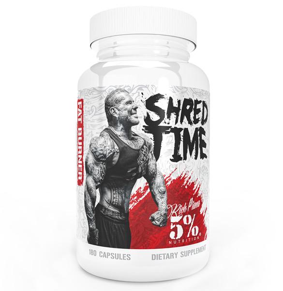 5% Nutrition Shred Time bottle