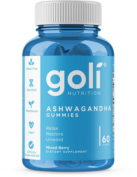Goli Nutrition Ashwagandha Bottle