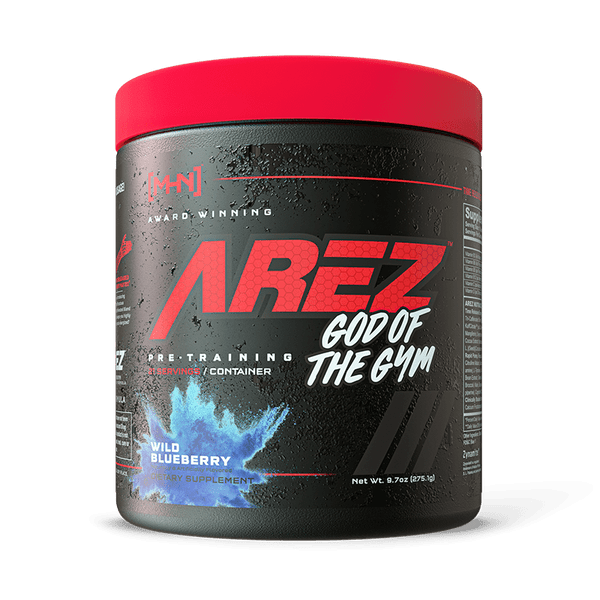 Modern Hardcore Nutrition Arez God Of The Gym Bottle