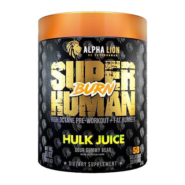 Alpha Lion Superhuman Burn Hulk Juice Bottle