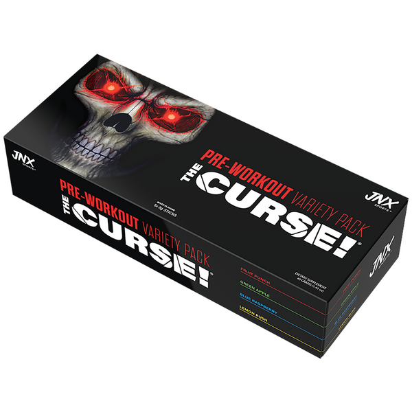 JNX Sports The Curse Pre-Workout Variety Pack Box