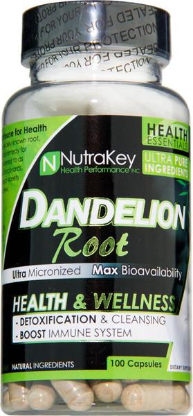 NutraKey Dandelion Root Bottle