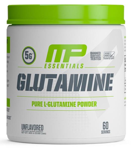 MusclePharm Essentials Glutamine Bottle