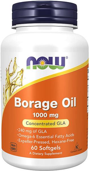 Now Borage Oil bottle