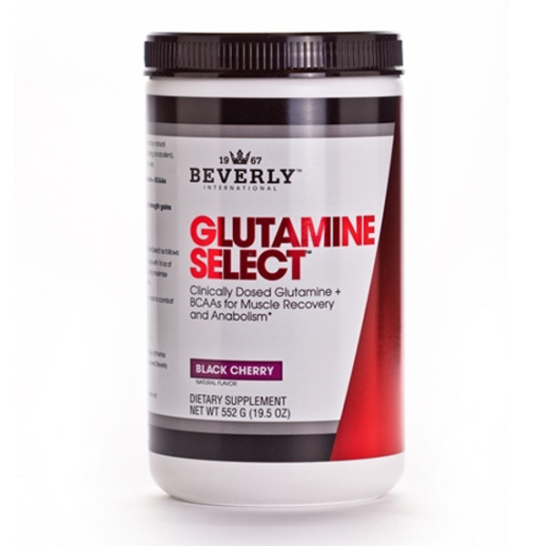 Beverly International Glutamine Select Plus BCAAs Bottle
