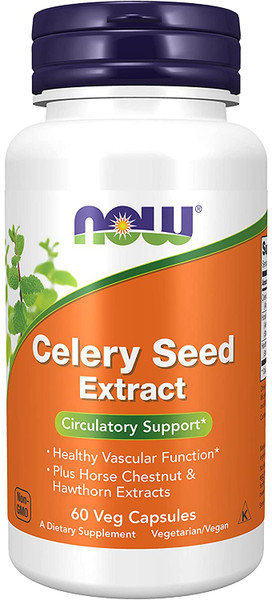 Now Celery Seed Extract bottle