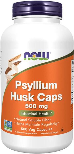 Now Psyllium Husk Caps bottle