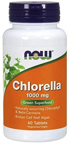 Now Chlorella 1000mg bottle