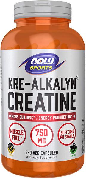 Now Kre-Alkalyn Creatine bottle