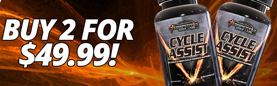 Buy 2 Competitive Edge Labs Cycle Assist - 240 Capsules, Get $5.91 OFF!