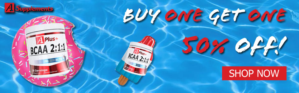 Buy 1 A1 Plus+ BCAA 2:1:1 - 30 Servings, Get 1 50% OFF!