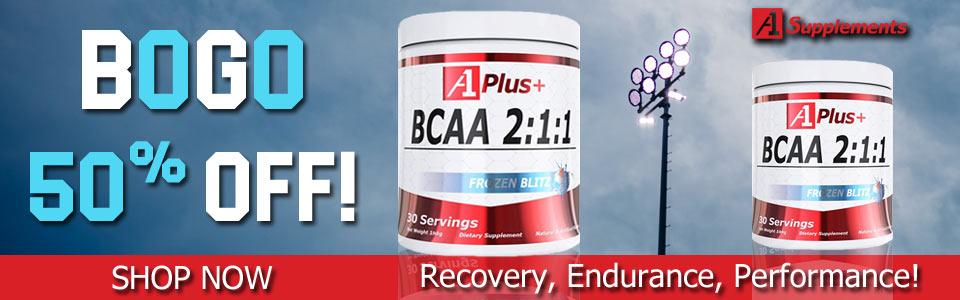Buy A1 Plus+ BCAA - 30 Servings, Get 1 50% OFF!