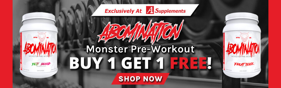 Buy 1 Spitfire Labs Abomination - 20 Servings, Get 1 FREE!