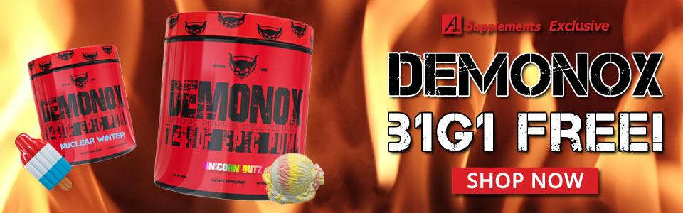 Buy 1 Spitfire Labs Demonox - 20 Servings, Get 1 FREE!