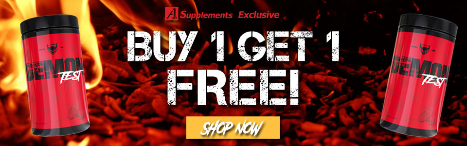Buy 1 Spitfire Labs Demon Test - 180 Capsules, Get 1 FREE!