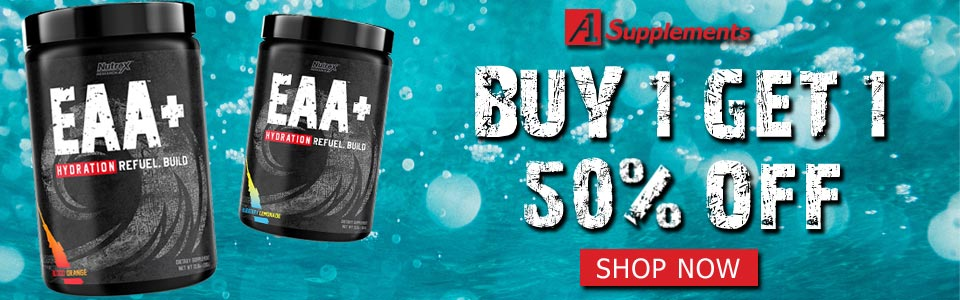 Buy Nutrex Research EAA+ Hydration - 30 Servings, Get 1 50% OFF!