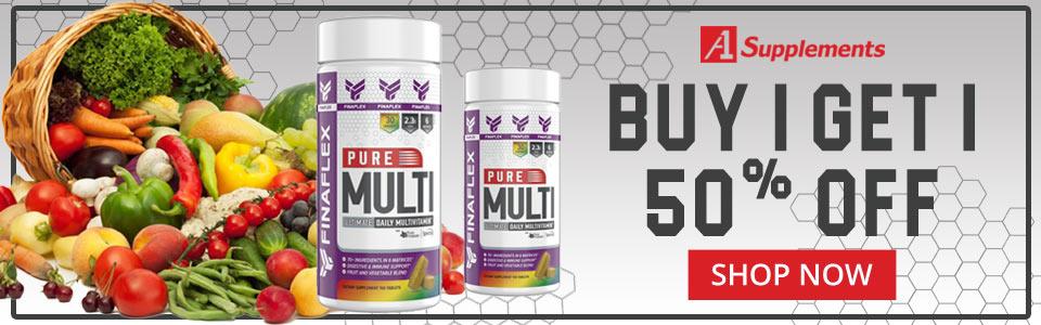 Buy FINAFLEX Pure Multi - 150 Talbets, Get 1 50% OFF!