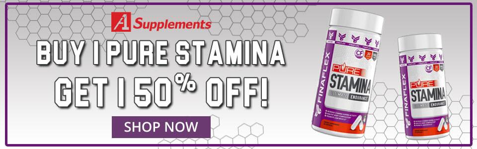 Buy 1 FINAFLEX Pure Stamina - 60 Capsules, Get 1 50%% OFF!