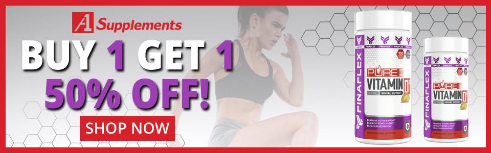Buy 1 FINAFLEX Pure Vitamin D3 - 100 Softgels, Get 1 50% OFF!
