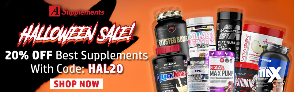 Use Code HAL20 & Get 20% OFF Best Supplements Category!