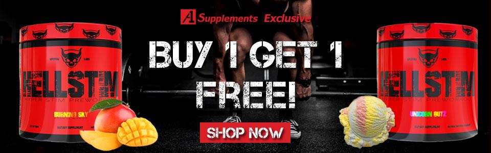 Buy 1 Spitfire Labs Hellstim - 25 Servings, Get 1 FREE!