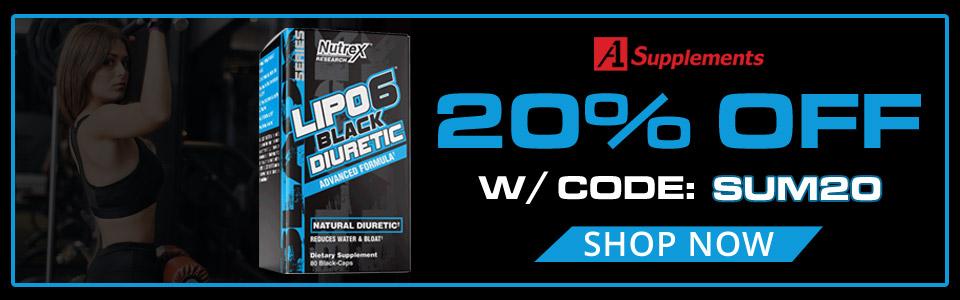 Buy Nutrex Research Lipo 6 Black Diuretic - 80 Capsules, Get 20% OFF WITH CODE: SUM20!