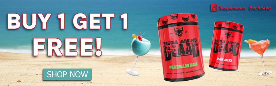 Buy 1 Spitfire Labs Mega Amino DEAAD - 30 Servings, Get 1 FREE!