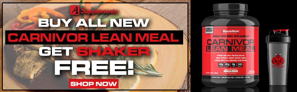 Buy MuscleMeds Carnivor Lean Meal - 4 Lbs,Get Shaker FREE!