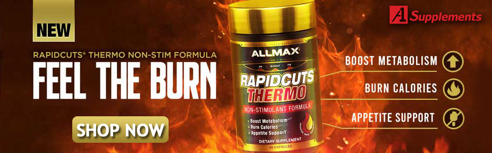 All New From ALLMAX Nutrition - Rapdic Cuts Thermo!